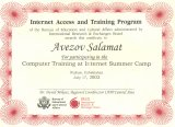 Computer Training at Internet Summer